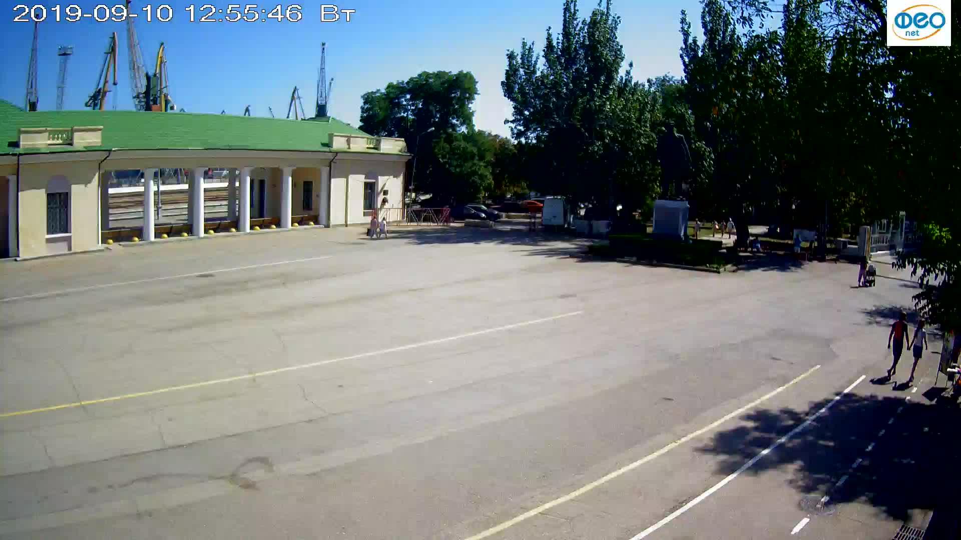 Веб-камеры Феодосии, Привокзальная площадь 2, 2019-09-10 12:43:12