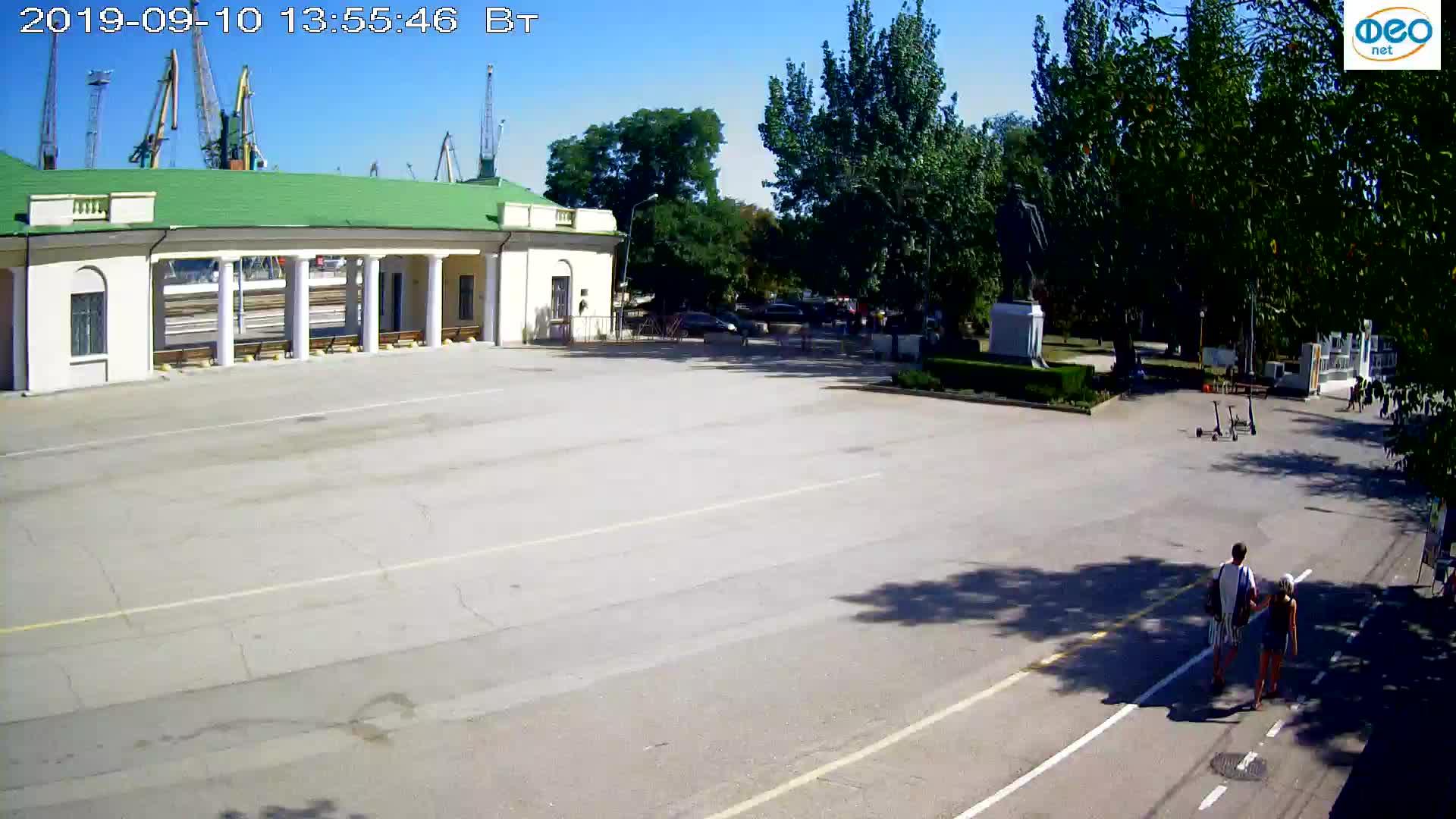 Веб-камеры Феодосии, Привокзальная площадь 2, 2019-09-10 13:43:08