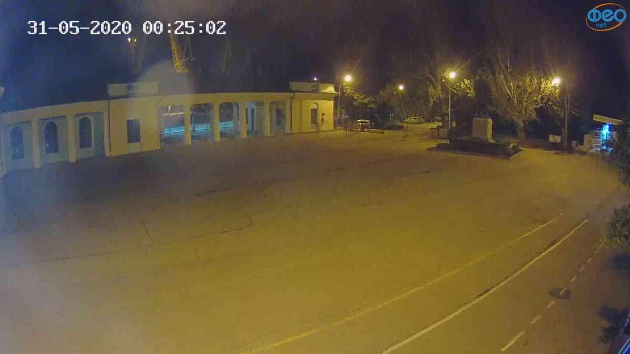 Веб-камеры Феодосии, Привокзальная площадь 2, 2020-05-31 00:25:13