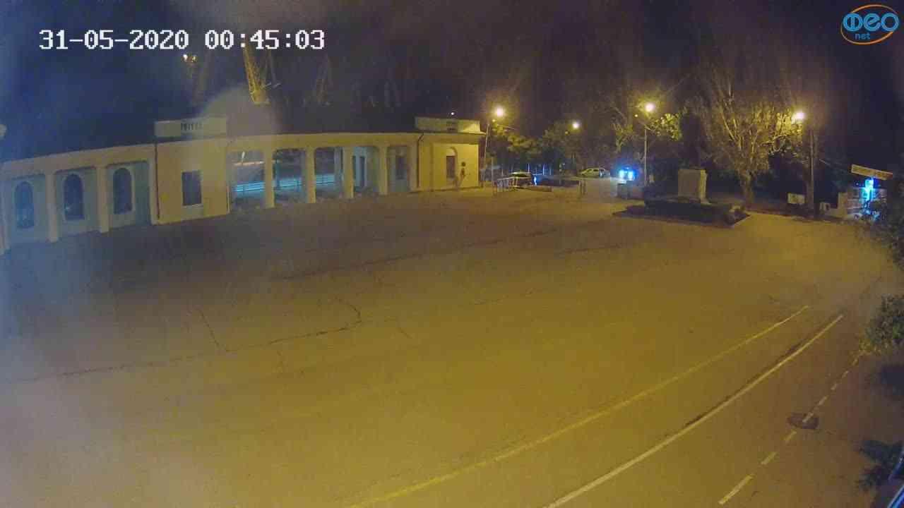 Веб-камеры Феодосии, Привокзальная площадь 2, 2020-05-31 00:45:12