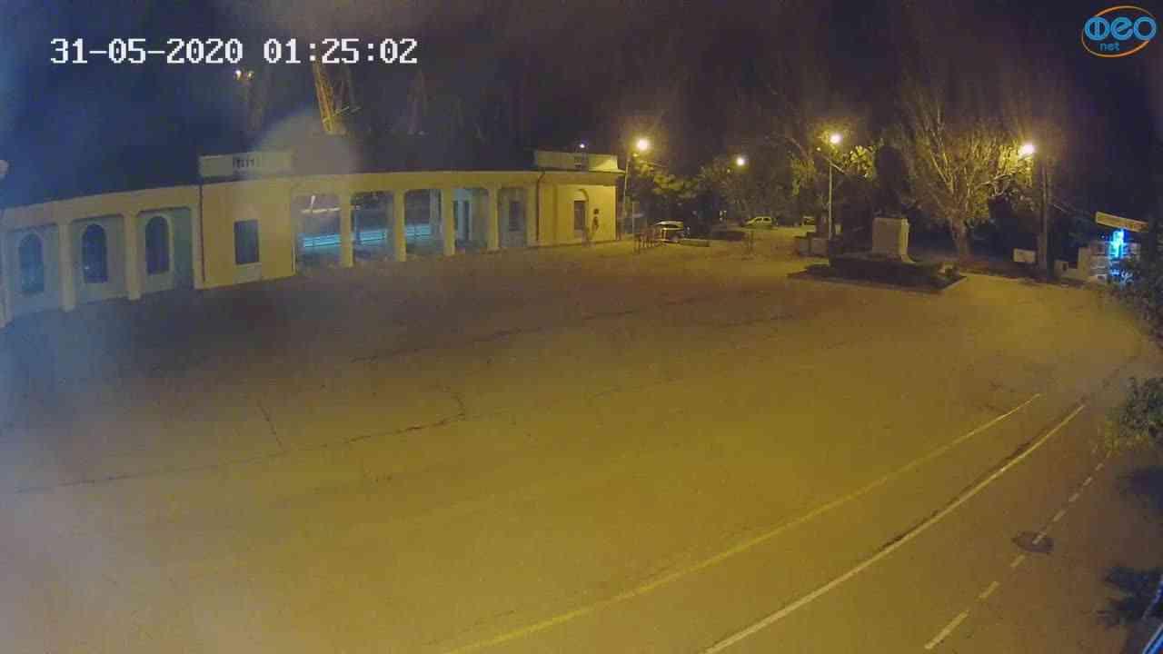 Веб-камеры Феодосии, Привокзальная площадь 2, 2020-05-31 01:25:13
