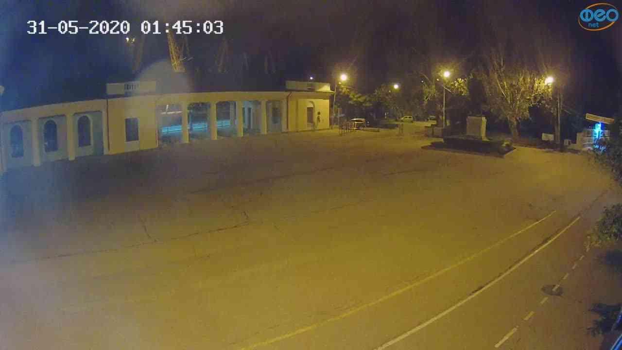 Веб-камеры Феодосии, Привокзальная площадь 2, 2020-05-31 01:45:14