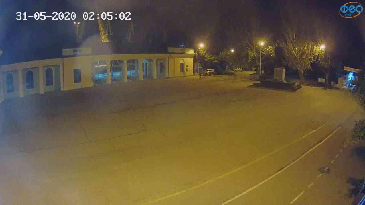 Веб-камеры Феодосии, Привокзальная площадь 2, 2020-05-31 02:05:14