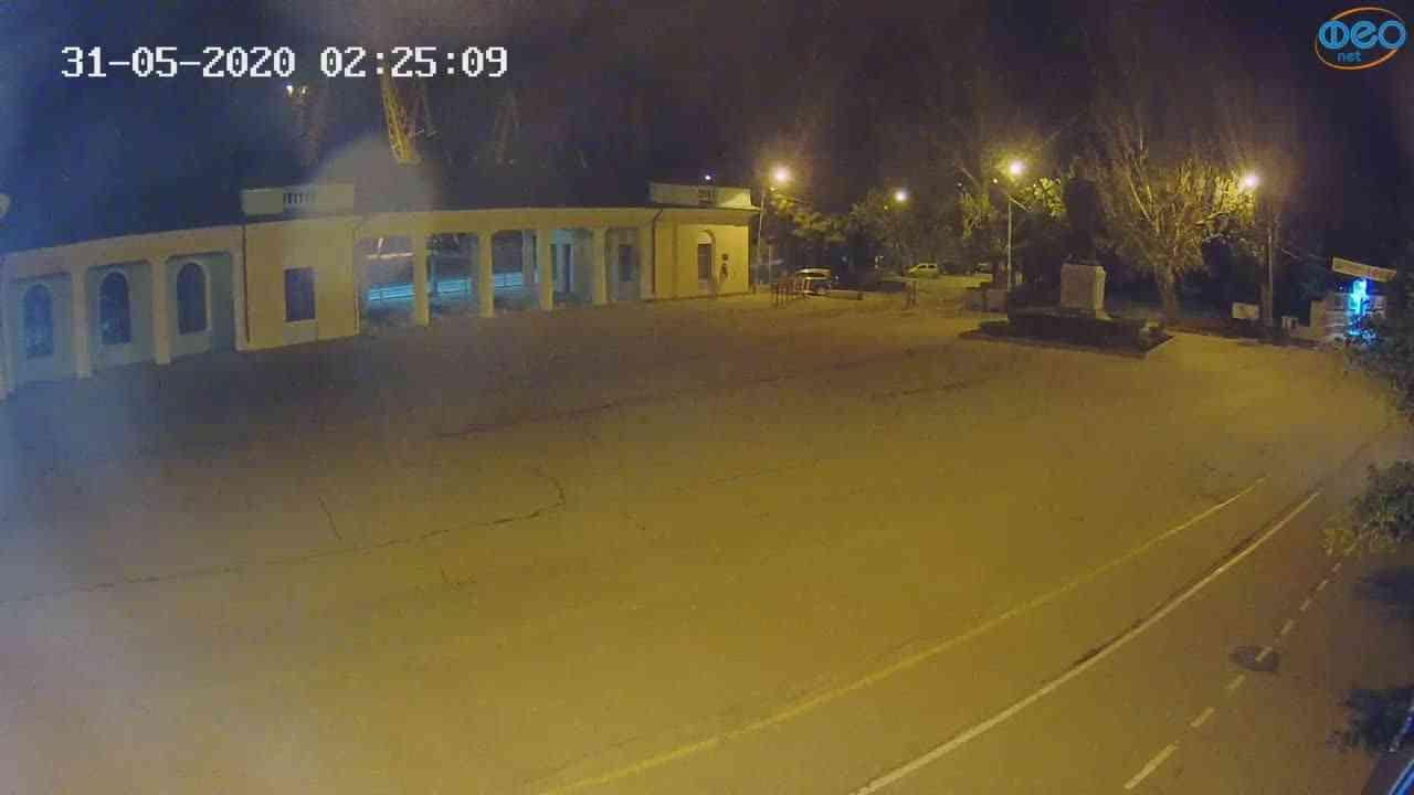 Веб-камеры Феодосии, Привокзальная площадь 2, 2020-05-31 02:25:22