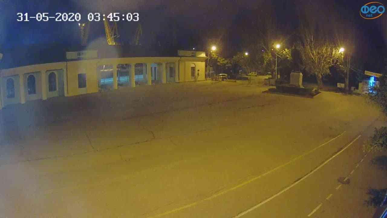 Веб-камеры Феодосии, Привокзальная площадь 2, 2020-05-31 03:45:14