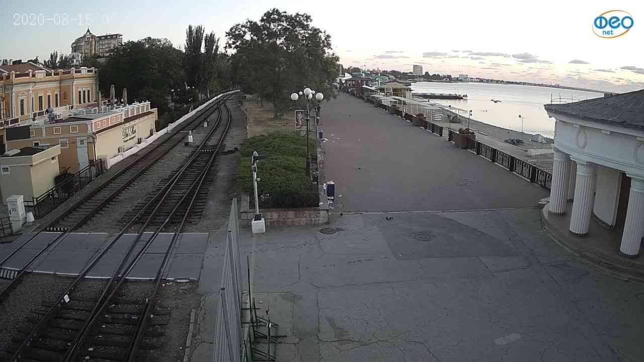 Веб-камеры Феодосии, Набережная, 2020-08-15 05:45:19
