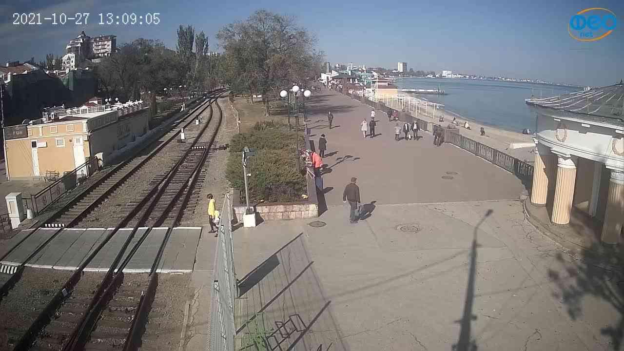 Веб-камеры Феодосии, Набережная, 2021-10-27 13:09:16