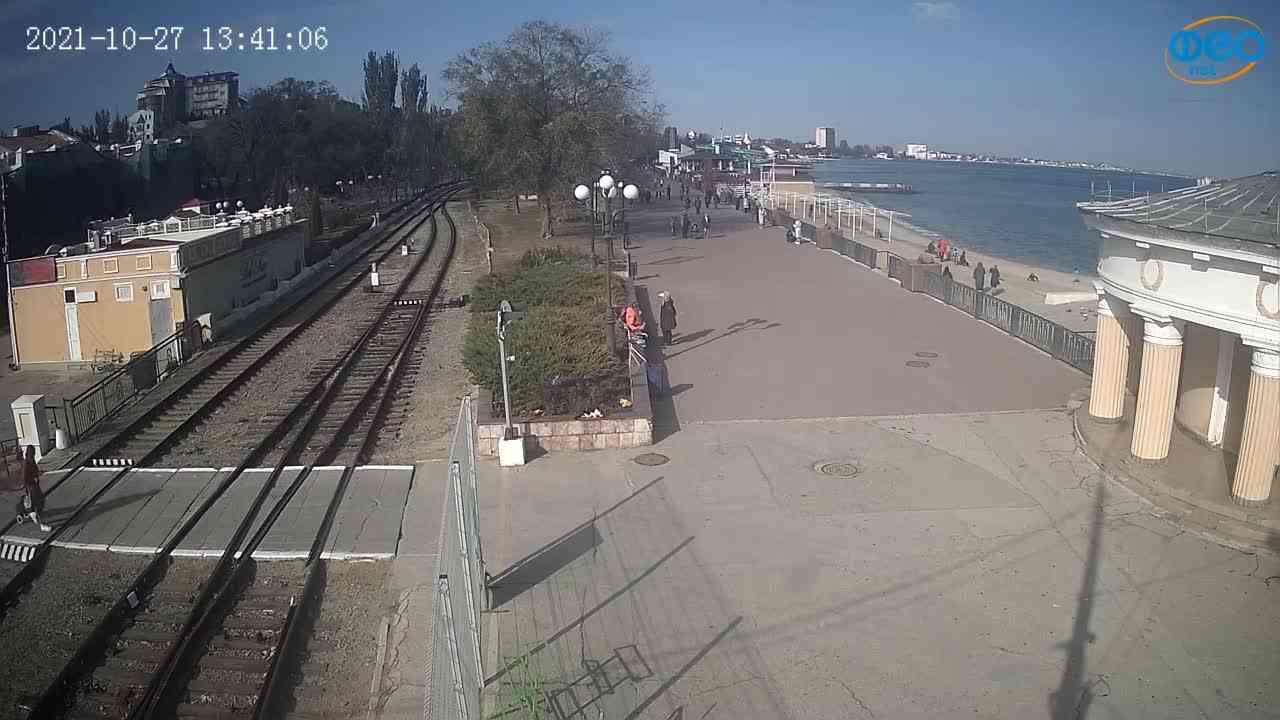 Веб-камеры Феодосии, Набережная, 2021-10-27 13:41:16
