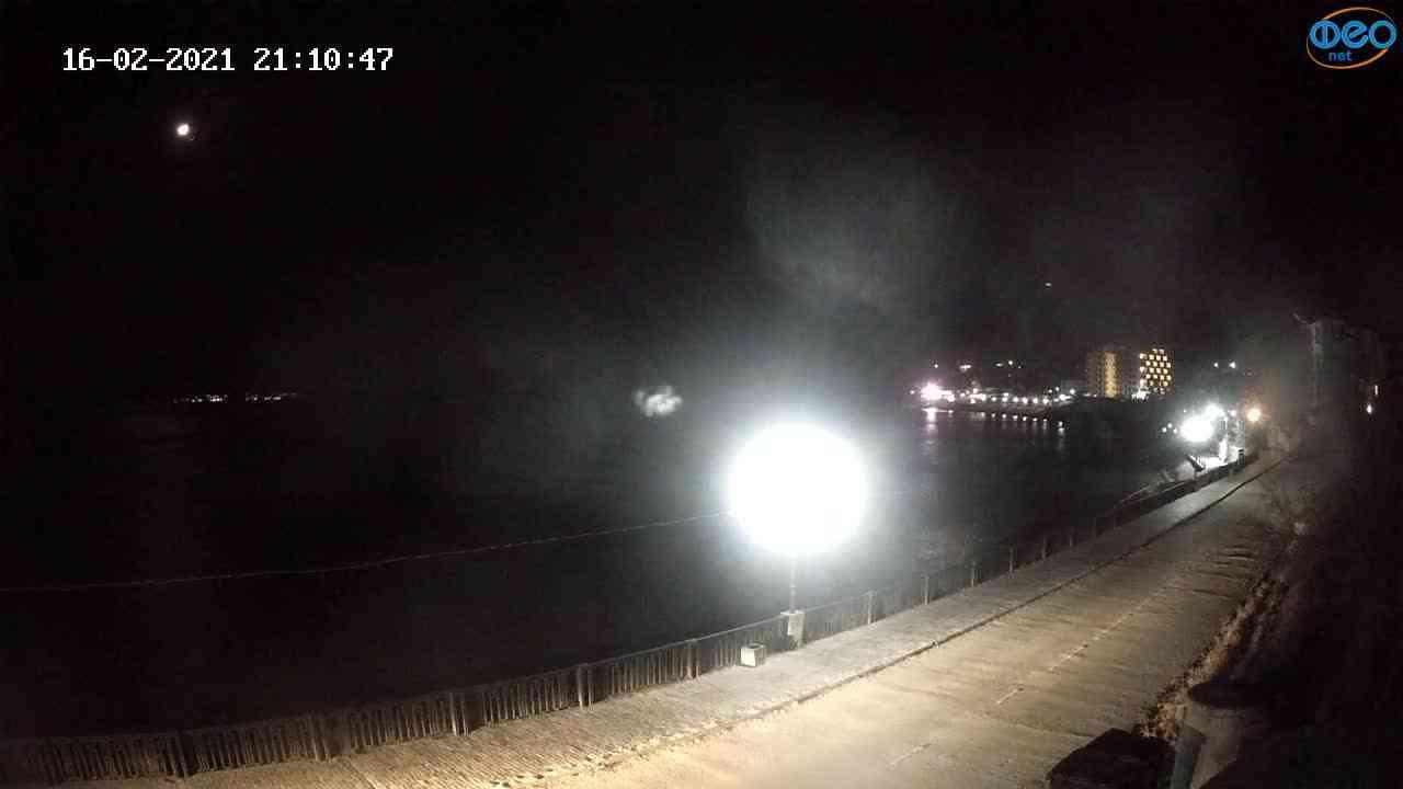 Веб-камеры Феодосии, Орджоникидзе, 2021-02-16 21:11:00