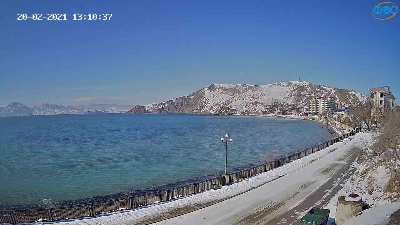 Веб-камеры Феодосии, Орджоникидзе, 2021-02-20 13:10:54