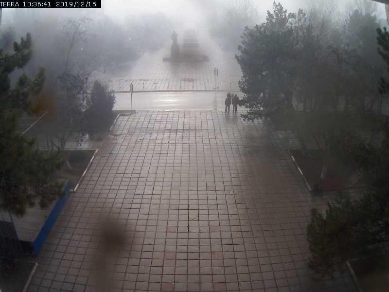 Веб-камеры Феодосии, Вид на площадь Ленина, 2019-12-15 10:36:42