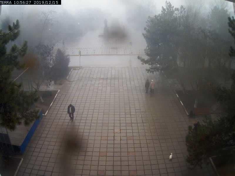 Веб-камеры Феодосии, Вид на площадь Ленина, 2019-12-15 10:56:29