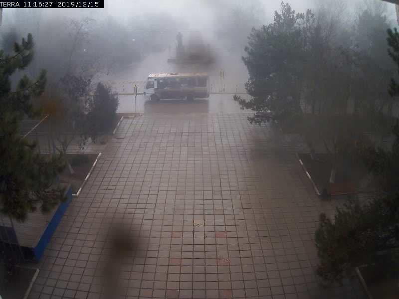 Веб-камеры Феодосии, Вид на площадь Ленина, 2019-12-15 11:16:29
