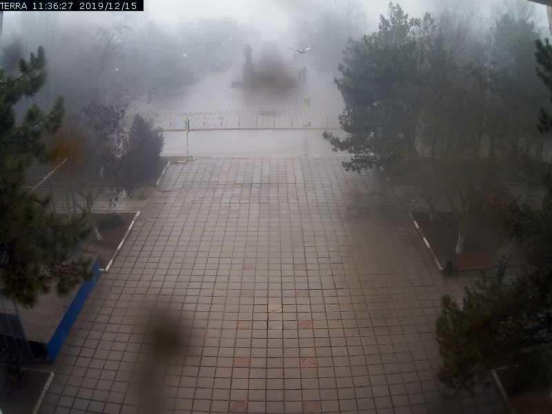 Веб-камеры Феодосии, Вид на площадь Ленина, 2019-12-15 11:36:29