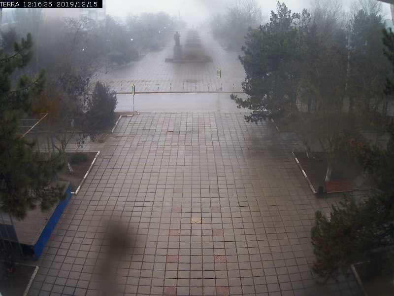 Веб-камеры Феодосии, Вид на площадь Ленина, 2019-12-15 12:16:37