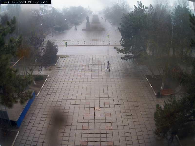 Веб-камеры Феодосии, Вид на площадь Ленина, 2019-12-15 12:26:25