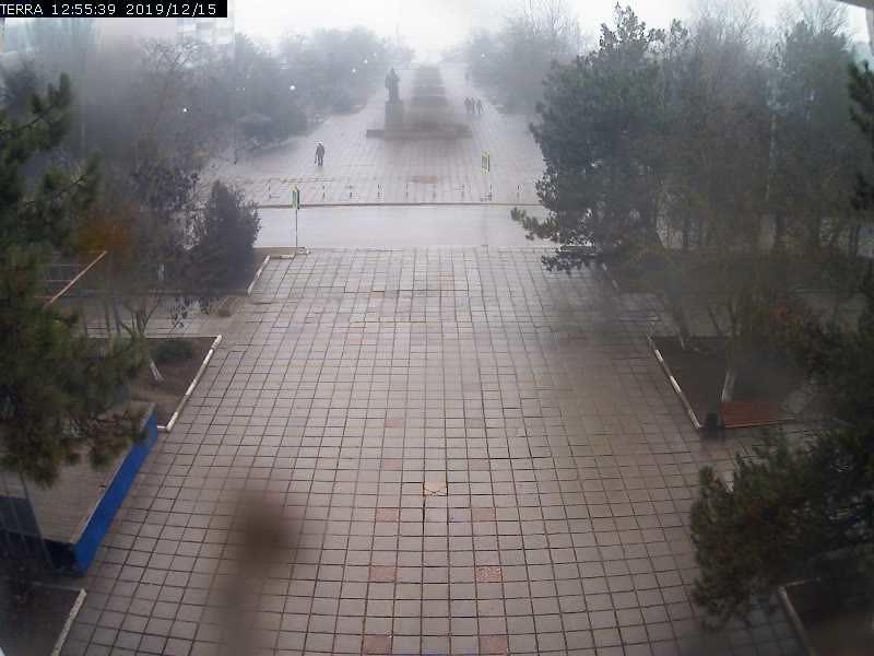 Веб-камеры Феодосии, Вид на площадь Ленина, 2019-12-15 12:55:42