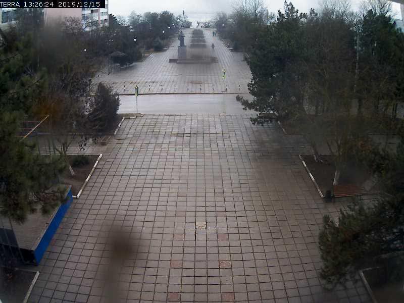 Веб-камеры Феодосии, Вид на площадь Ленина, 2019-12-15 13:26:26