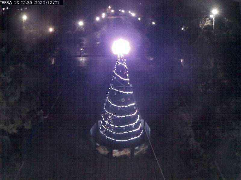 Веб-камеры Феодосии, Вид на площадь Ленина, 2020-12-21 19:22:37