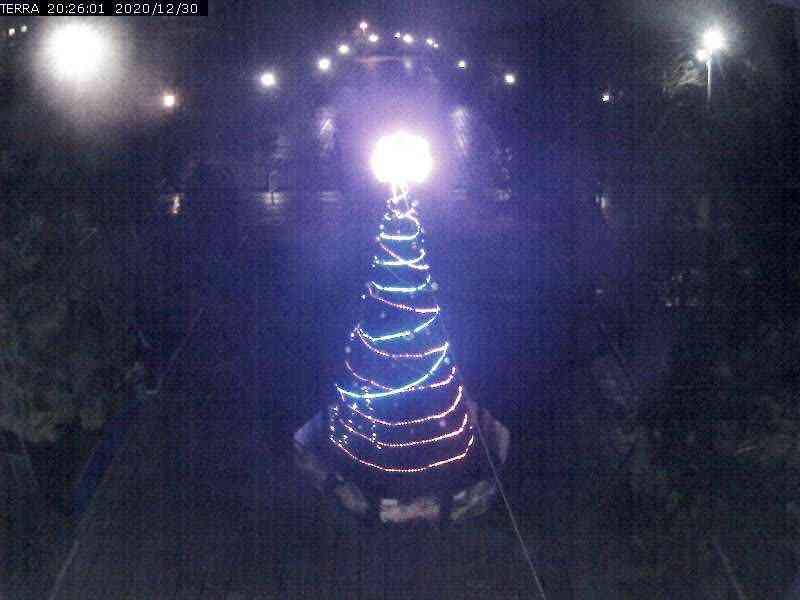 Веб-камеры Феодосии, Вид на площадь Ленина, 2020-12-30 20:26:02