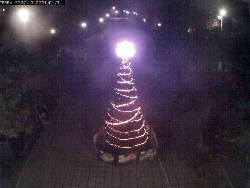 Веб-камеры Феодосии, Вид на площадь Ленина, 2021-01-04 22:52:11
