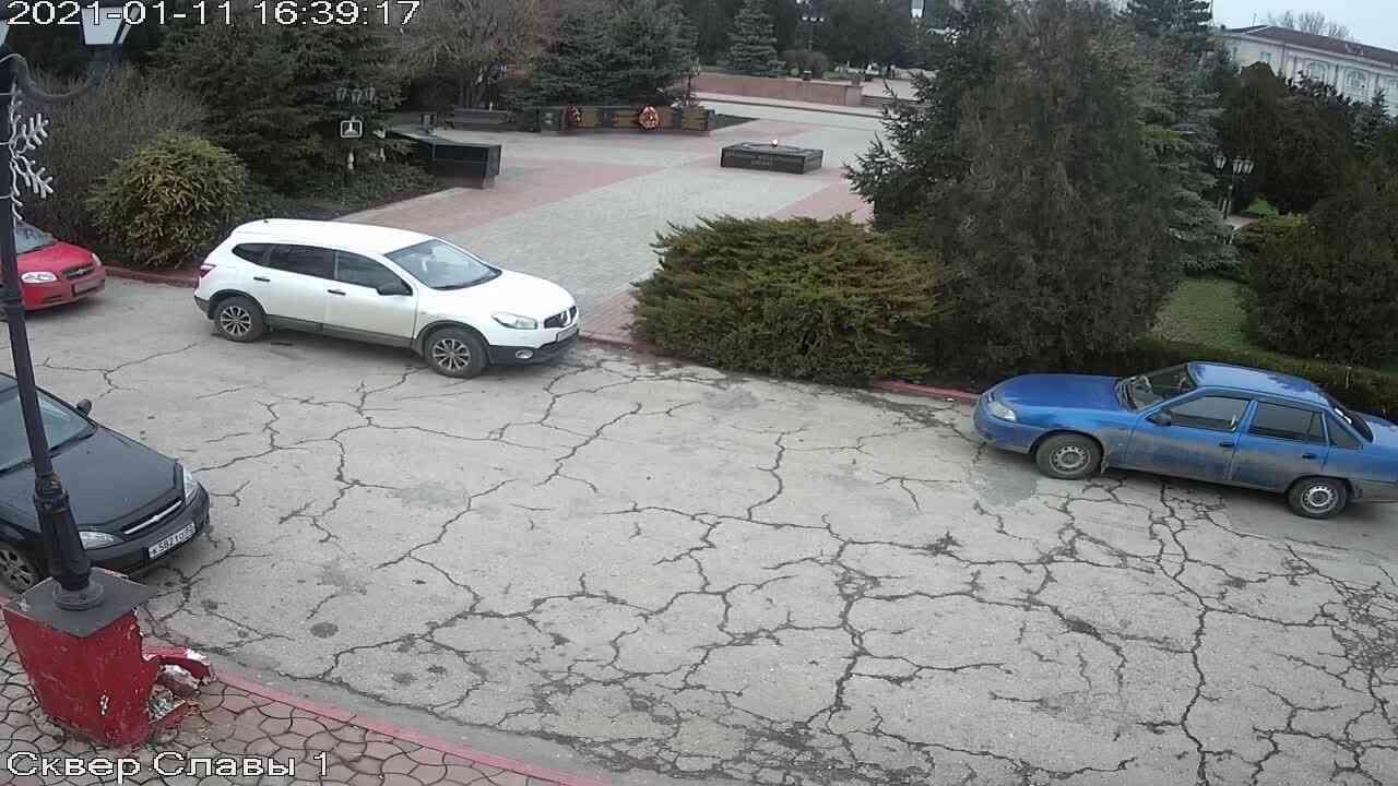Веб-камеры Керчи, Сквер Славы, 2021-01-11 16:39:19