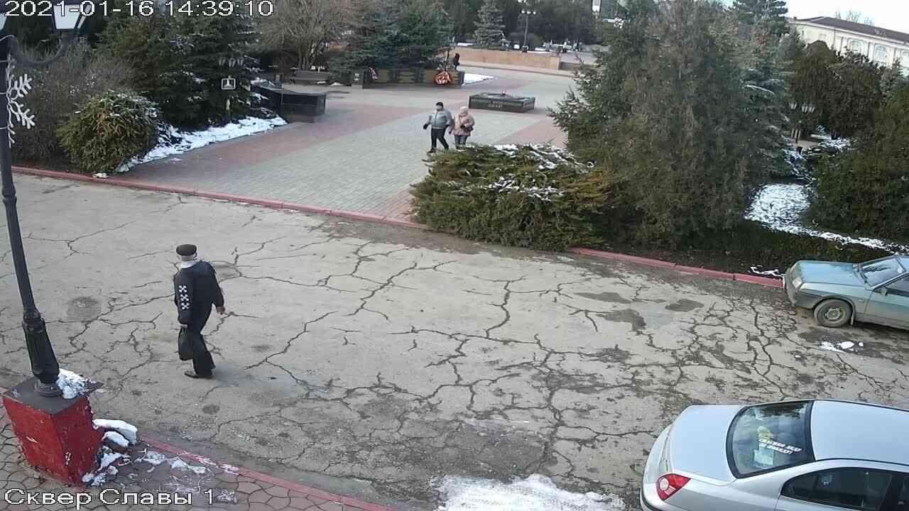 Веб-камеры Керчи, Сквер Славы, 2021-01-16 14:39:11