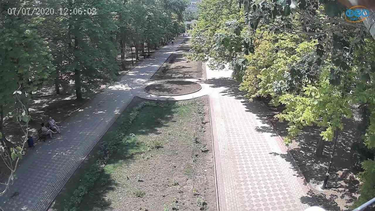 Веб-камеры Феодосии, Памятник Доброму Гению, 2020-07-07 12:06:11