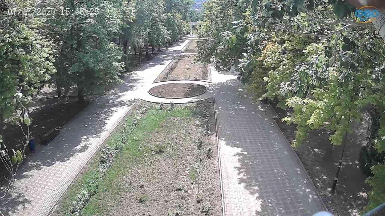 Веб-камеры Феодосии, Памятник Доброму Гению, 2020-07-07 15:05:36