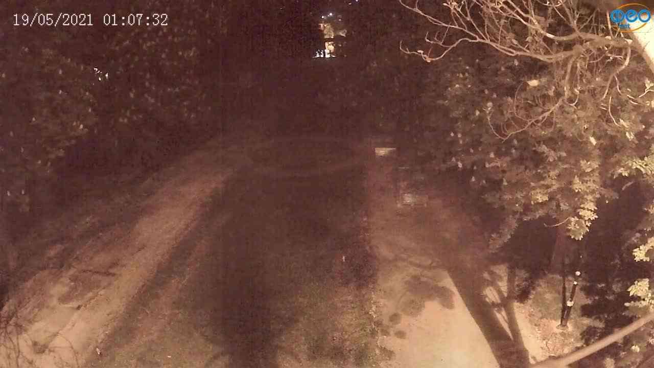 Веб-камеры Феодосии, Памятник Доброму Гению, 2021-05-19 01:07:04