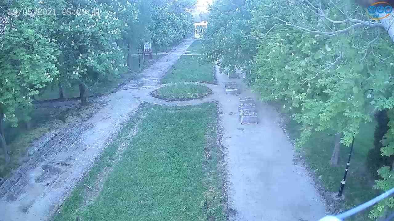 Веб-камеры Феодосии, Памятник Доброму Гению, 2021-05-19 05:29:16
