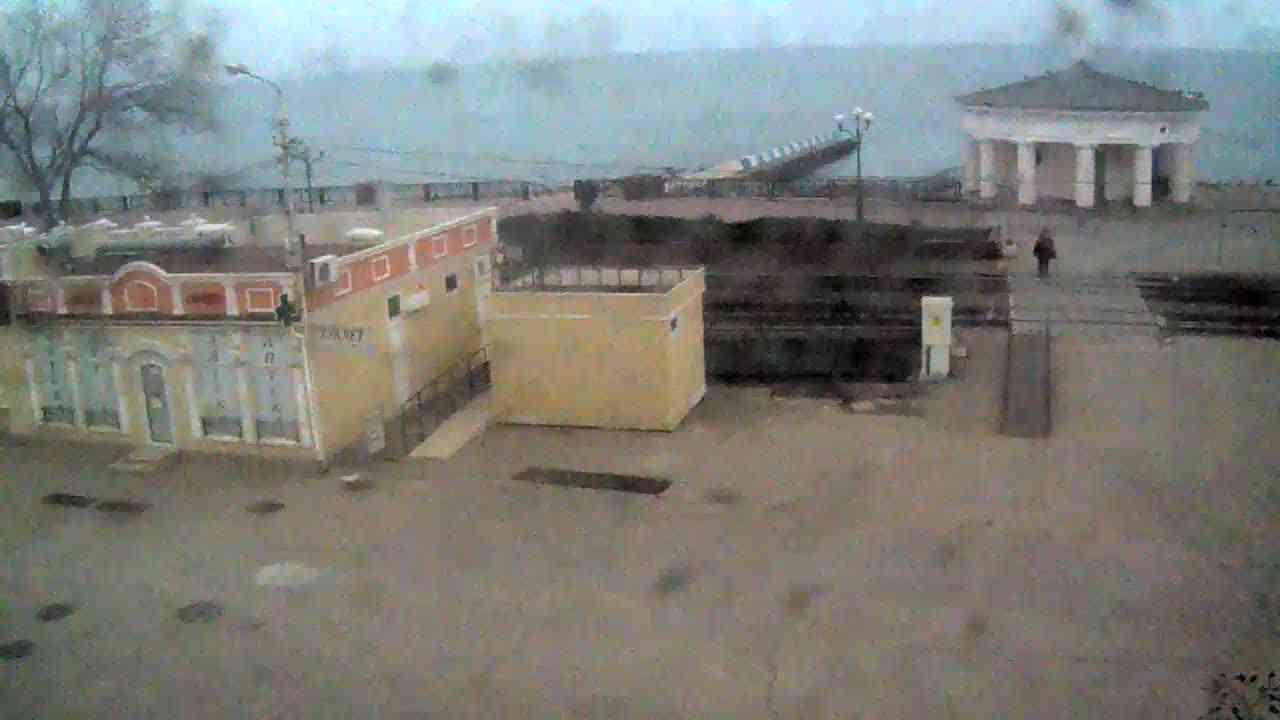 Веб-камеры Феодосии, Переезд и набережная, 2020-01-21 10:55:35