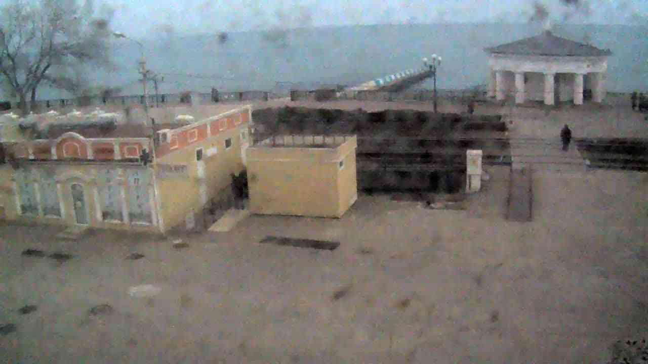 Веб-камеры Феодосии, Переезд и набережная, 2020-01-21 12:15:31