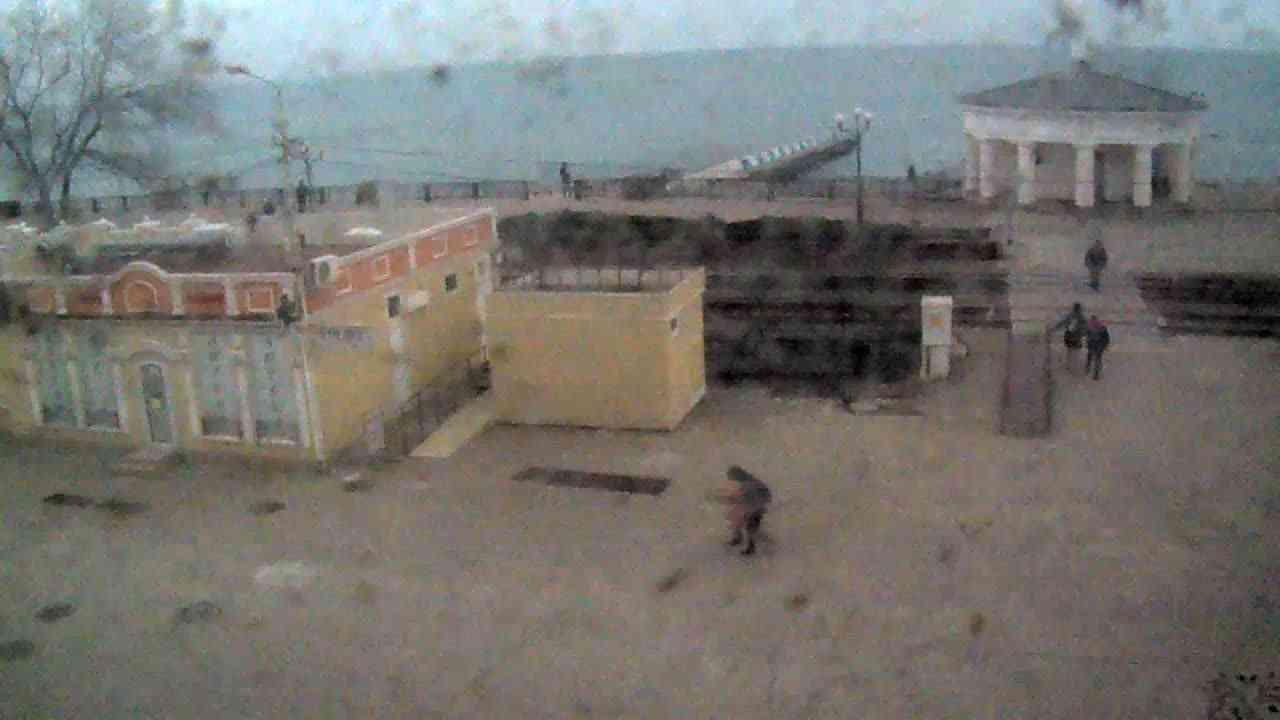 Веб-камеры Феодосии, Переезд и набережная, 2020-01-21 12:35:44