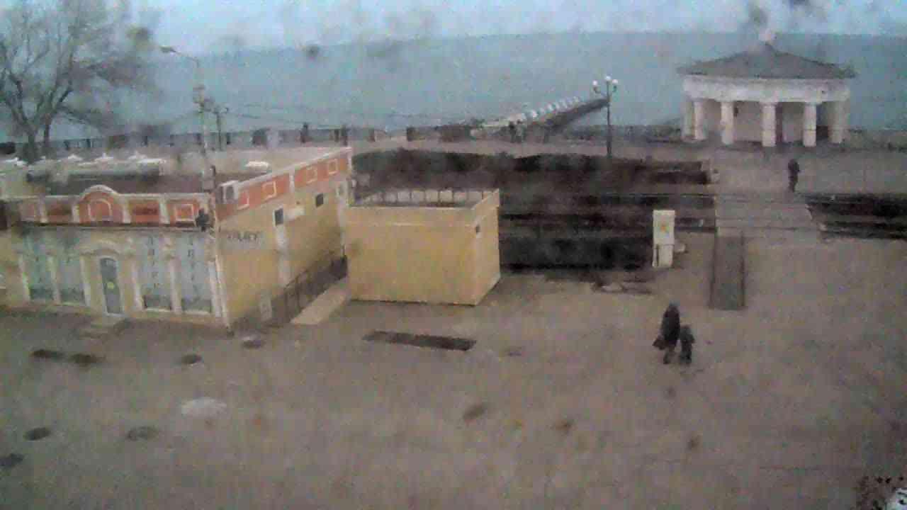 Веб-камеры Феодосии, Переезд и набережная, 2020-01-21 12:55:43
