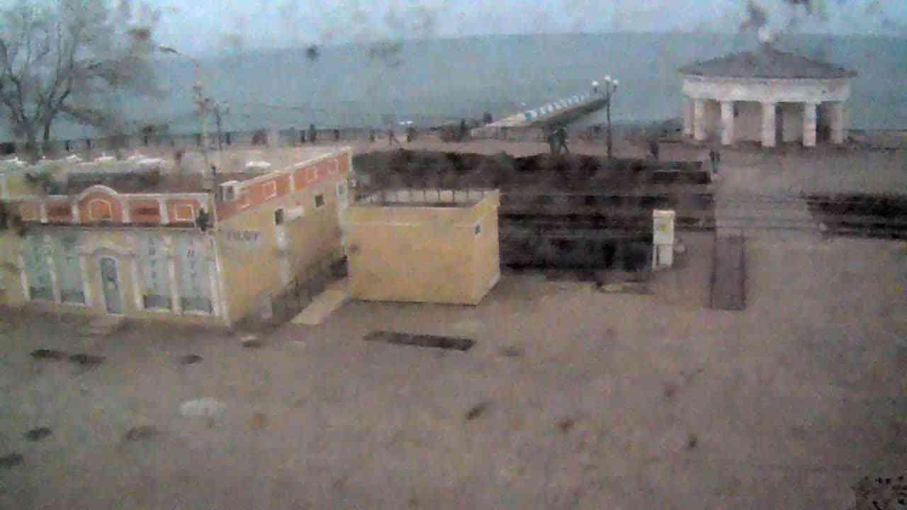 Веб-камеры Феодосии, Переезд и набережная, 2020-01-21 13:15:45