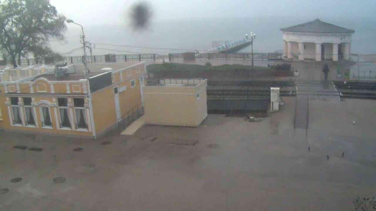 Веб-камеры Феодосии, Переезд и набережная, 2020-10-31 07:59:39
