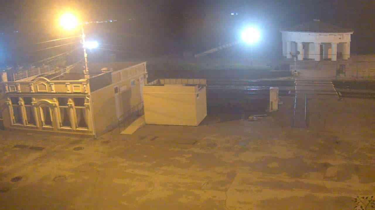 Веб-камеры Феодосии, Переезд и набережная, 2020-11-01 22:54:18
