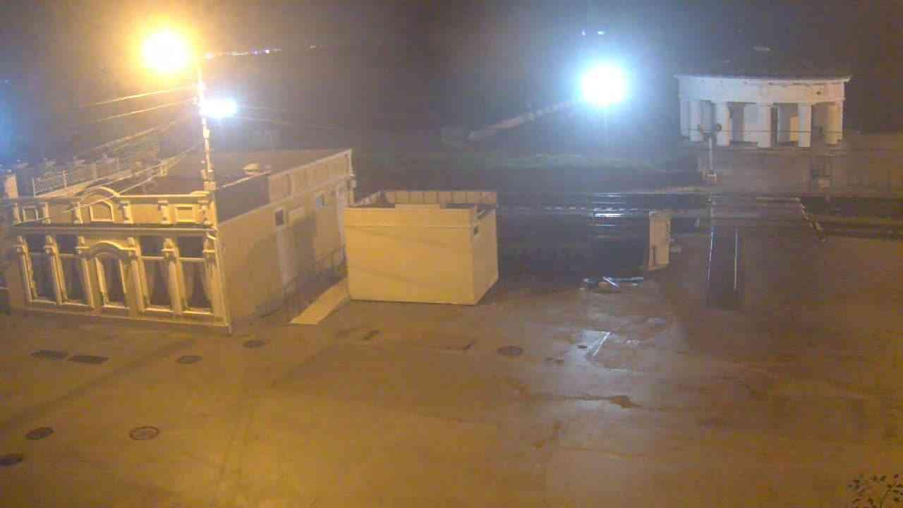 Веб-камеры Феодосии, Переезд и набережная, 2020-11-02 05:20:07