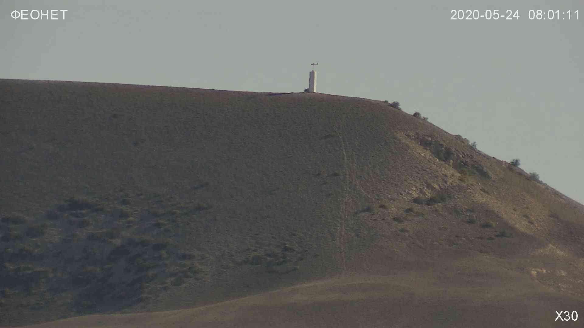 Веб-камеры Феодосии, Обзорная камера в Коктебеле, 2020-05-24 08:02:40