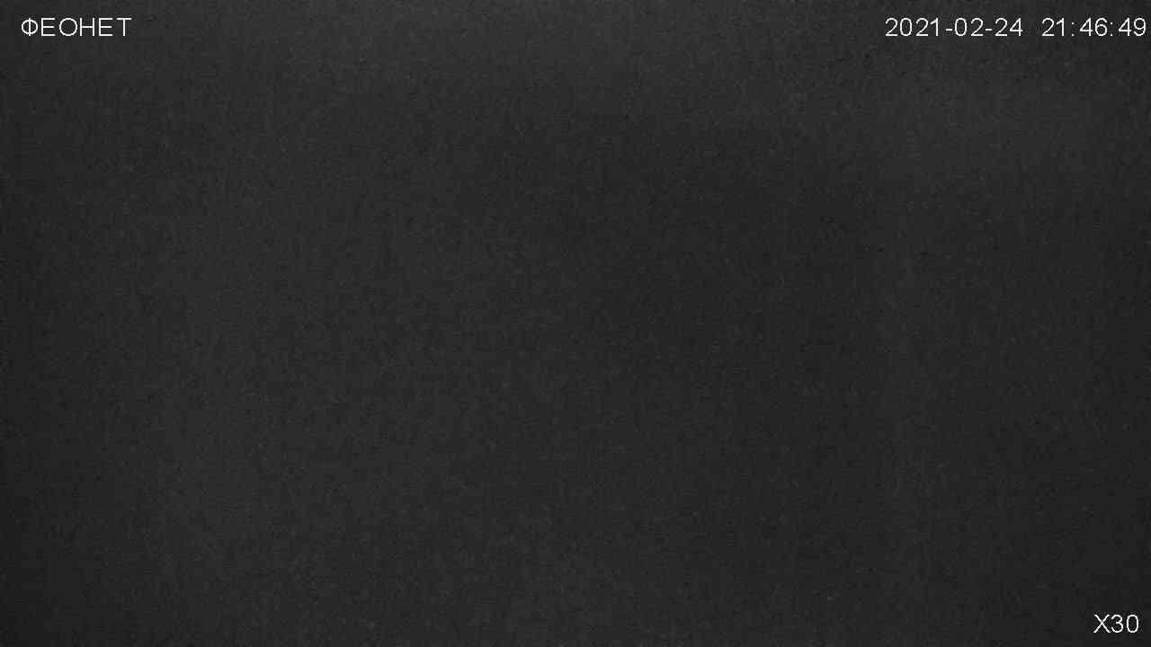 Веб-камеры Феодосии, Обзорная камера в Коктебеле, 2021-02-25 02:04:22