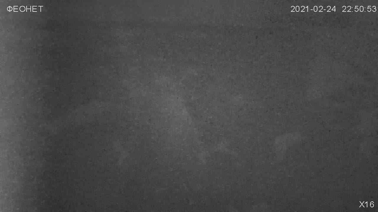Веб-камеры Феодосии, Обзорная камера в Коктебеле, 2021-02-25 03:08:23