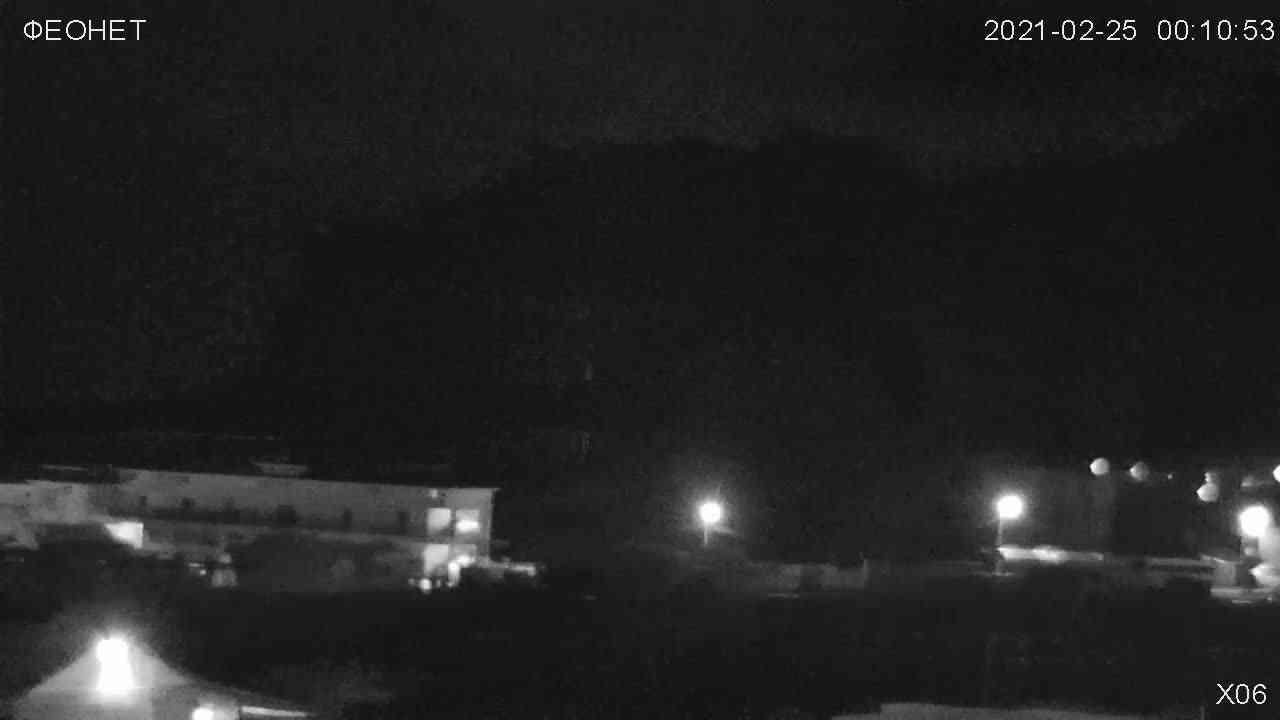 Веб-камеры Феодосии, Обзорная камера в Коктебеле, 2021-02-25 04:28:26