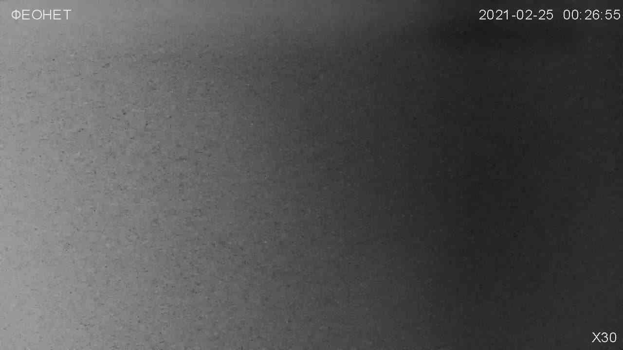 Веб-камеры Феодосии, Обзорная камера в Коктебеле, 2021-02-25 04:44:25