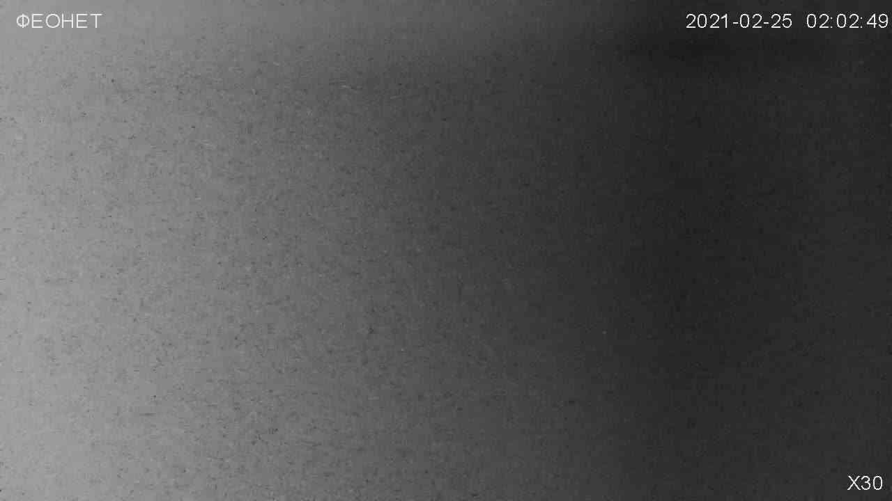 Веб-камеры Феодосии, Обзорная камера в Коктебеле, 2021-02-25 06:20:23