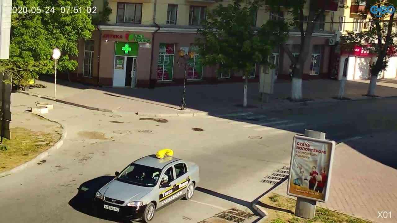 Веб-камеры Феодосии, Камера с видом на магазин Новый Свет, 2020-05-24 07:51:11