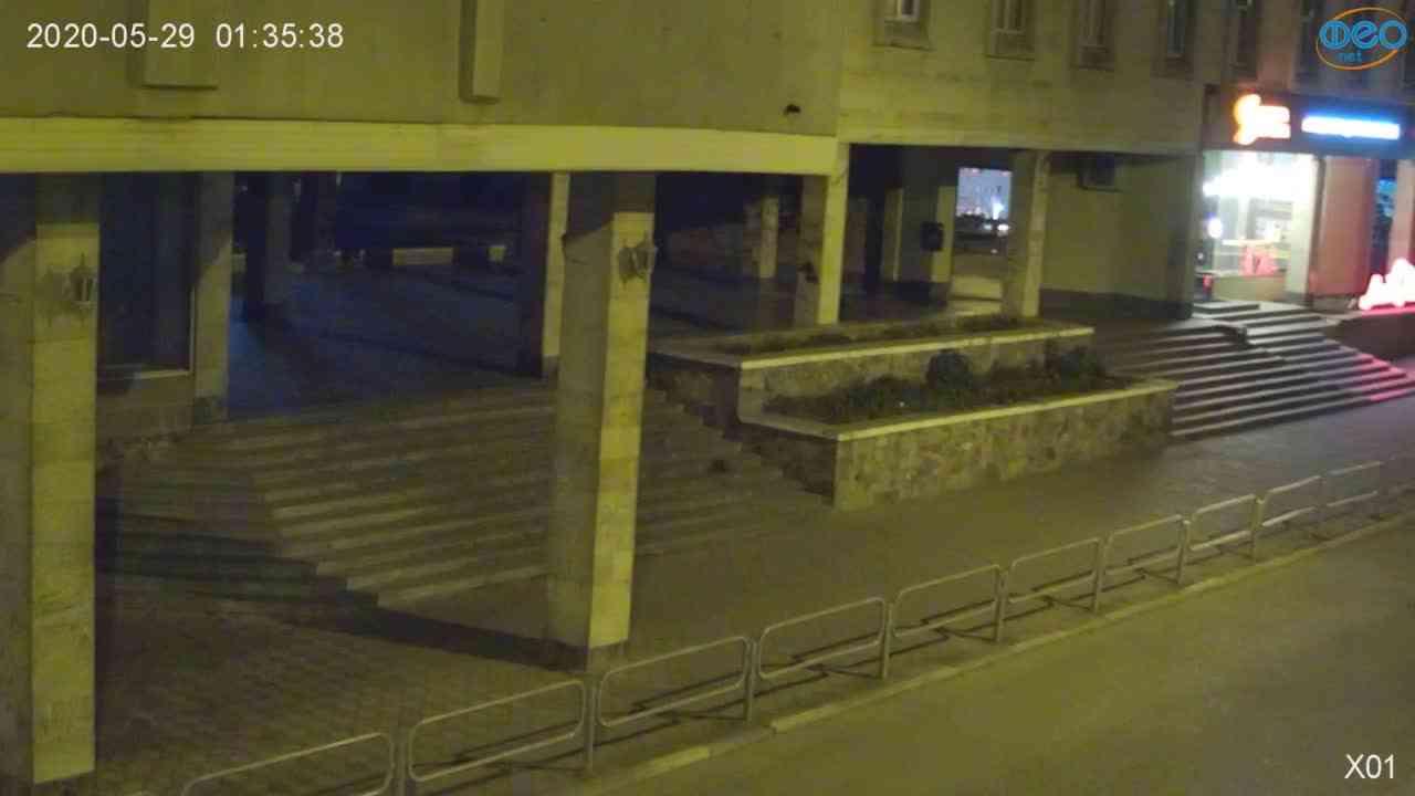 Веб-камеры Феодосии, Камера с видом на магазин Новый Свет, 2020-05-29 01:35:54